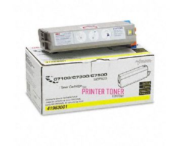 Oki C7350 Yellow Refurbished Toner
